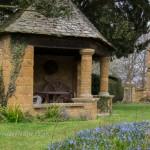 Cotswold stone summerhouse