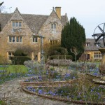 Ilmington manor: Cotswold stone house and garden