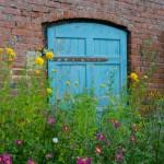 Gate in the walled garden, Croft Castle