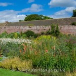 The walled garden at Croft Castle