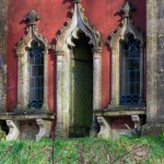 The Gothic style Red House, Rococo Garden, Painswick