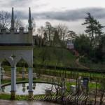View across the Rococo Garden