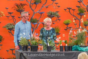Carol Klein from Gardener's World and James Alexander-Sinclair (Garden Designer)